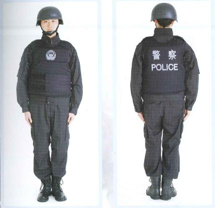 非金属防弹防刺服